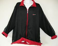 RARE~Nike Air ULTRA SUEDE velour max Track sweat shirt Jacket Top~Mens sz 2XL