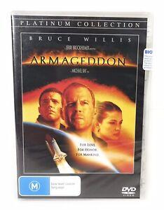 Armageddon DVD Bruce Willis Ben Affleck Liv Tyler New & Sealed Region 4