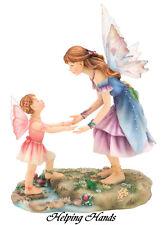 """Faerie Glen """"Helping Hands"""" Fairy Figurine Retired 2008"""