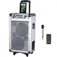 NEW QUANTUM FX Qfx Battery Powered Bluetooth Pa Speaker PBX-3081BT