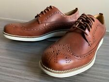 Cole Haan OriginalGrand Long Wingtip Leather Shoes size 7.5 Original Grand