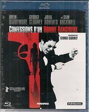 "BLU-RAY ""CONFESSIONS D'UN HOMME DANGEREUX""GEORGE CLOONEY - NEUF SOUS BLISTER"