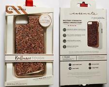New Original CASE-MATE Brilliance Tough Rose Gold Crystal Case iPhone 8 7 6S 6