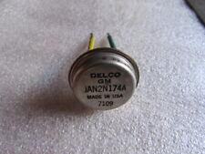 JAN 2N174A Delco GM, RCA, MOT, Mil Spec PNP Transistor 80V, 15A, NOS USA 1 piece