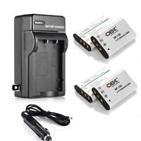 NP-120 Battery + Charger For Fujifilm D-LI7 DB-43 X100 H30 H31 NP-120 PX1657