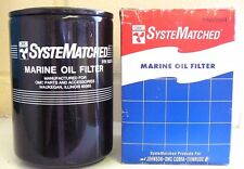 OMC, VOLVO PENTA, MERCRUISER FORD SYSTEMATCHED OIL FILTER PART No 502904