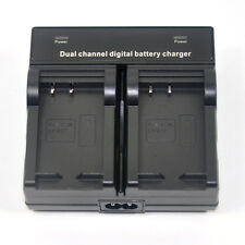 Dual Battery Charger for Canon LP-E17 LPE17 LC-E17 LCE17 EOS 750D 760D M3 Camera