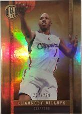 2011-12 CHAUNCEY BILLUPS PANINI GOLD STANDARD NBA CARD MINT 287/299!