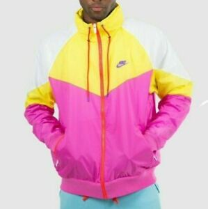Men's NWT Nike Air Windrunner Retro Windbreaker Jacket Hooded AR2209-623 Size XL