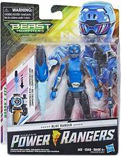 "Power Rangers Beast Morphers Blue Ranger 6"" Action Figure Toy"