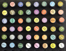 NEW doTERRA Therapeutic Grade Pure Essential Oil Cap Label Sheet 204 Stickers