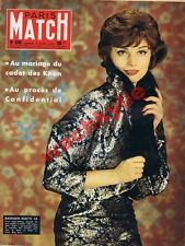 Paris Match n°439 du 07/09/1957 JOC Rome