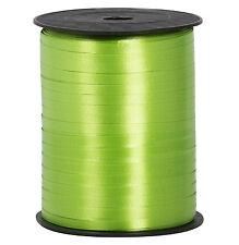 TRIXES 500 Metre Green Satin Balloon Ribbon