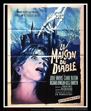 THE HAUNTING 4x6 ft Vintage French Grande Original Movie Poster 1963