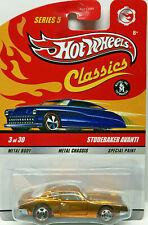 Hot Wheels Series 5 Classics STUDEBAKER AVANTI (Gold Chrome)
