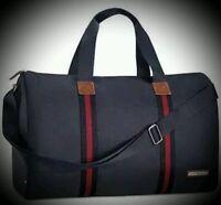 Tommy Hilfiger Parfums Men Duffle Bag All Access Gym Travel Overnight Handbag