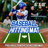 Pro-Ball Green 6' x 12' Baseball Hitting Mat
