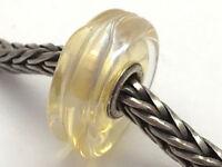Authentic Trollbeads Murano Glass Honey Dawn  Bead Charm 61402, New