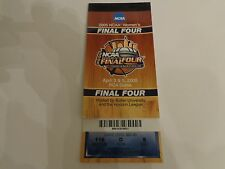 2005 NCAA Womens FInal Four Tickets Held at RCA Dome Indianapolis