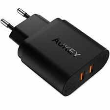 Aukey Chargeur Secteur USB 2 ports Quick Charge 3.0