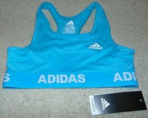 ~NWT Girls ADIDAS Aeroready Sports Bra! Size M 10-12 Cute:)*