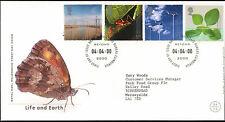 GB FDC 2000 Life & Earth, Bureau H/S #C22983
