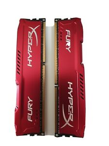 HyperX Fury ddr3, 16 GB kit (2x8), 1866Mhz Red