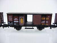 Minitrix N 1:160 13645 Gedeckter Güterwagen Bananen - 2-achsig