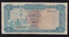 Libya - 1 Dinar 1971-72 - Vg -