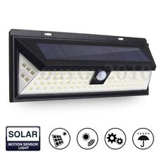 80 LED Solar Power Light Motion Sensor Outdoor Security Lamp Garden Waterproof
