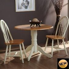 Wooden Patio 3 Piece Table & Chair Sets