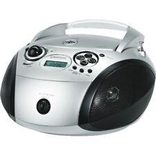 Grundig RCD 1445 USB Argento-Nero CD-Radio mp3 VHF FM USB sintonizzatore digitale