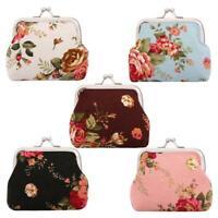 Women Retro Wallet Handbag Girls Change Coin Purse Hasp Clip Clutch Card H #Buy