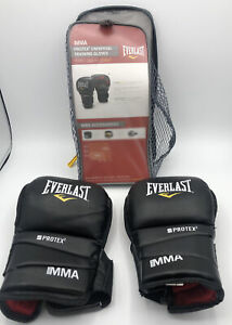 Everlast Protex2 MMA Grappling Gloves Large/Ex Large New Model 7774BL Great Gift