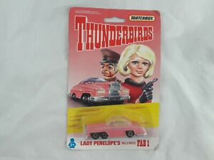 Matchbox Thunderbirds Fab 1 Rolls-Royce die cast vehicle