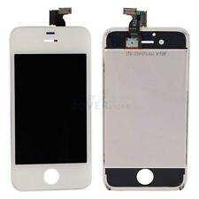 CDMA/GSM Touch Digitizer &LCD Glass Screen w/Frame for iPhone 4S White US