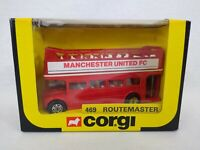 Corgi Manchester United 1983 FA Cup Winners Open Top Bus 469 Routemaster