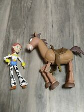 "New listing Disney Toy Story 7"" Bullseye Horse Jesse Galloping Action Figure Vintage Mattel"