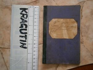 1914 KINGDOM YUGOSLAVIA BOOKLET DOCUMENT BANK PURCHASE REPAYMENT book BOOKLET