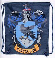 Wizarding World Of Harry Potter Raveclaw Drawstring Backpack Vinyl Bag New