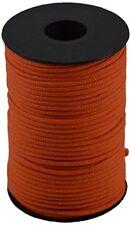 Corderie Italiane 006036500 Cordino colorato Hobby Arancione diametro 2.5 mm