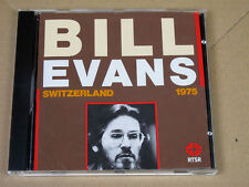 CD Bill Evans Trio Switzerland 1975 RTSR Jazz Helvet 1990