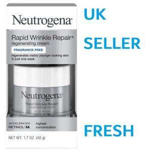 Neutrogena Rapid Wrinkle Repair REGENERATING Cream Fragrance Free Day MAXIMUM
