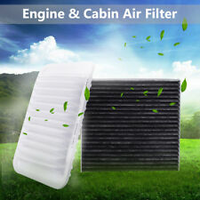Car Engine + Cabin Air Filter For Toyota Corolla 09-17 Yaris 07-17 Matrix 09-14