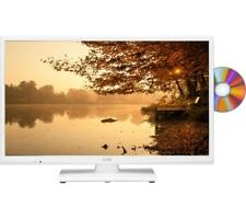 "LOGIK L24HEDW15 24"" LED TV with Built-in DVD Player - White (HD 720p)"