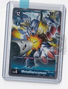 MetalGarurumon ST2-11 SR Alt Art Evolution Cup 2021 Event Pack Digimon Card Game