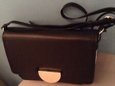BNWT M&S Autograph LADIES BLACK Leather SHOULDER Bag MRP £99