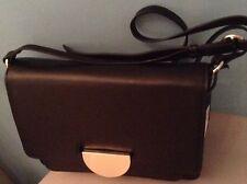 BNWT M&S Autograph LADIES BLACK Leather SHOULDER Bag MRP £99