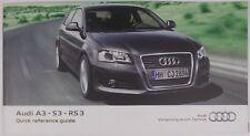buy a3 car owner operator manuals ebay rh ebay co uk 2005 Audi A3 TDI 2005 Audi A5