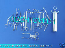 SET OF 15 PCS EAR & NOSE SURGERY INSTRUMENT FORCEP VIENNA NASAL SPECULUM,DS-853